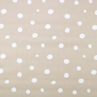 Wachstuch - Dots - beige