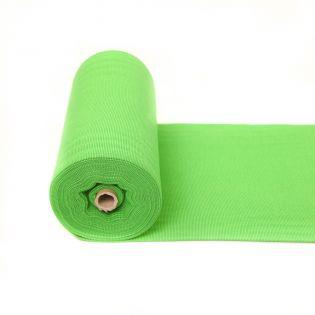 Bündchen - geringelt - grün