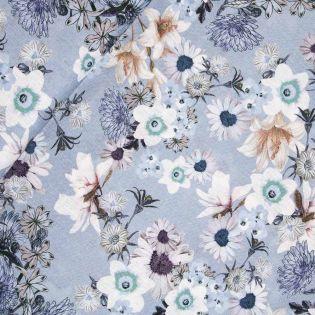 Leinen - Blumenmix - Digitaldruck