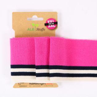 Hamburger Liebe - Cuff Me College XXL - Sakura - pink - navy - beige