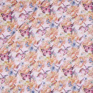 Baumwollvoile - lovely Butterflies