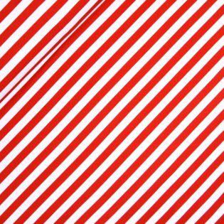 French Terry - rot-weiße Streifen