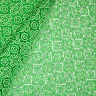 Stretch-Spitze - uni - grün