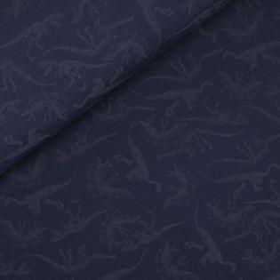 Softshell - Dinosaurier-Skelette - Glow in the Dark - navy