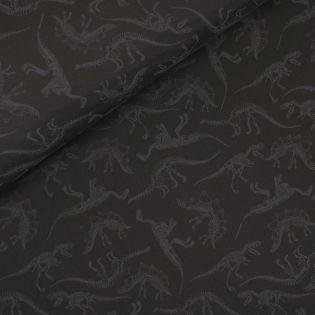 Softshell - Dinosaurier-Skelette - Glow in the Dark - schwarz