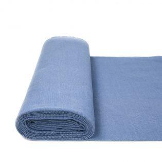 Sweatshirt - Jacquard - jeansblau