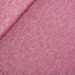Leinen-Baumwolle - Batik - uni - rot