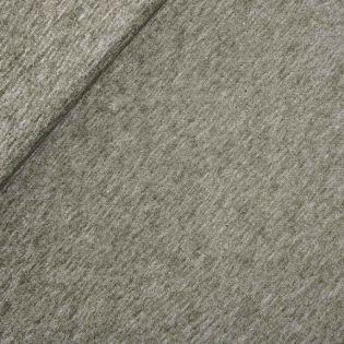 Leinen-Baumwolle - Batik - uni - grün