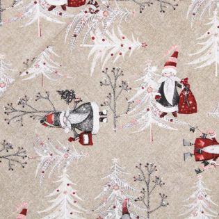 Dekostoff - Weihnachten - Weihnachteswald