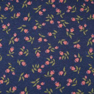 Sweatshirt - Glitzerblumen