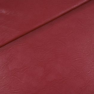 Lederimitat - rot - weich