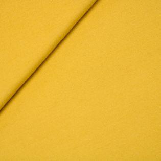 Schurwolle - uni - gelb