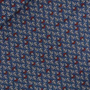 Baumwolle - AHOI - Pirat - blau