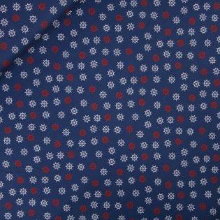 Baumwolle - AHOI - Steuerrad - blau