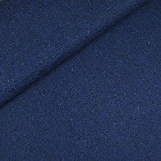 Original Harris Tweed - Herringbone - uni - blau
