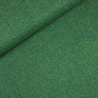 Original Harris Tweed - Herringbone - uni - grün
