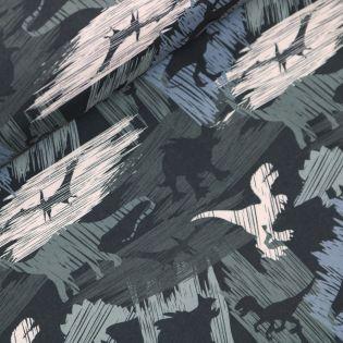 Softshell - gepinselte Dinosaurier