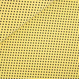 Stretch Dots - gelb-schwarz