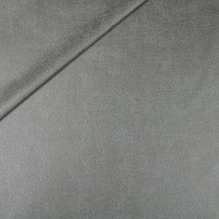 Lederimitat - Antik - grau