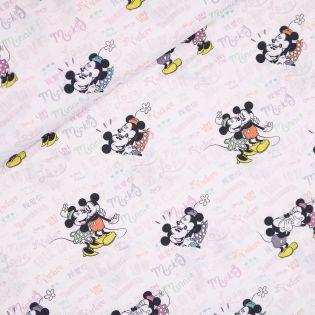 Baumwolle - Mickey und Minnie - sweet