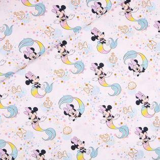 Baumwolle - Minnie Mouse - Meerjungfrau