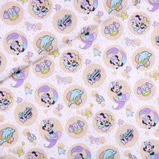 Baumwolle - Minnie Mouse - Wasserspaß