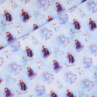 Baumwolle - Frozen - Anna-Elsa-Olaf