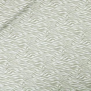 Popeline - Zebra - natur