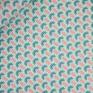 Baumwolle - beschichtet - Flower