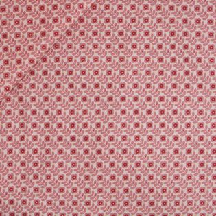 Baumwolle - beschichtet - Flower Power - pink