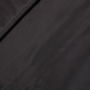 Seidenstretch - uni - schwarz