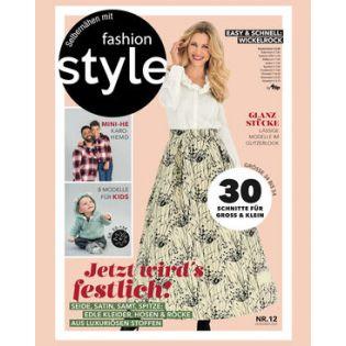 Zeitschrift - Fashion Style - Jetzt wird´s festlich!