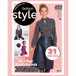 Zeitschrift - Fashion Style - Die neue Herbst-Kollektion
