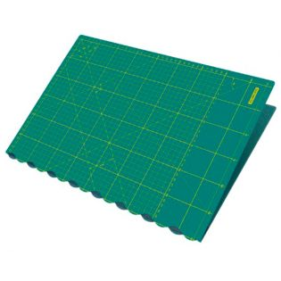 Schneidematte - faltbar - 45x62 cm - grün