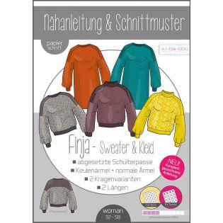 Schnittmuster - ki-ba-doo - Finja - Sweater und Kleid