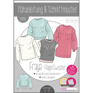 Schnittmuster - ki-ba-doo - Fraya - Flügel-Sweater