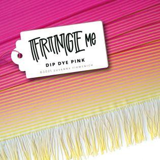 Hamburger Liebe - Fringe Me - Dip Dye - pink