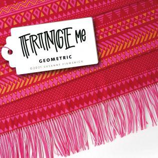 Hamburger Liebe - Fringe Me - Geometric - red