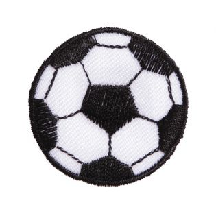 Applikation - Fußball - 39x39mm