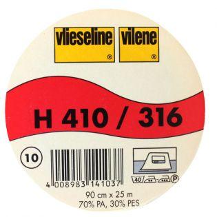 H410 - Gewebeeinlage - weiß