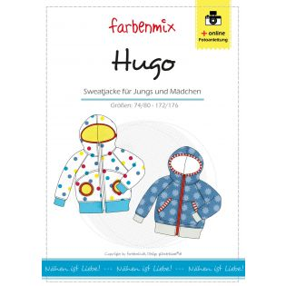 Schnittmuster - Farbenmix - Hugo - Sweatjacke für Kids