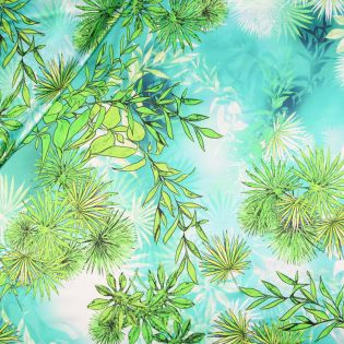 Seidenstretch-Satin - green Nature