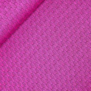 Hamburger Liebe - Bliss - Ginko - pink - Jacquardjersey