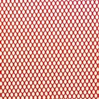Mesh-Gewebe - Netzfutter - rot