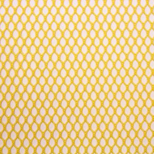 Mesh-Gewebe - Netzfutter - gelb