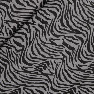 Winterviskosejersey - Zebra