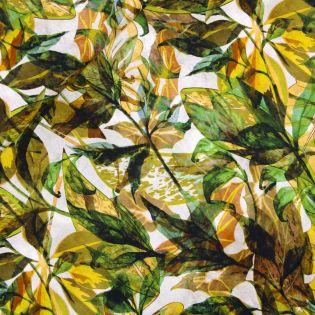 Viskosejersey - Herbstblätter