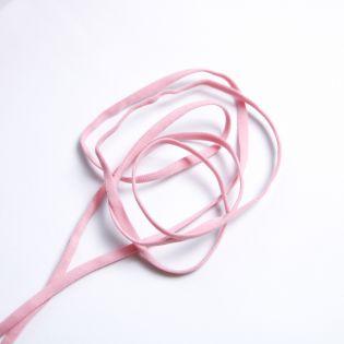 Gummiband - flach - 5mm breit - rose