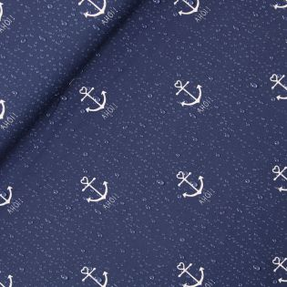 French Terry - AHOI 2.0 - Schietwetter - navy