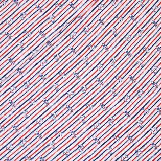 Baumwolljersey - AHOI 2.0 - Meerliebe - rot/blau
